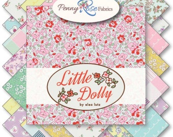 Fat Quarter Bundle Little Dolly by Elea Lutz for Penny Rose Fabrics- 23 Fabrics