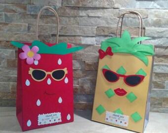Fruit Goody bags/ Two TTe Fruty Bags