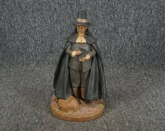 "Tom Clark Pilgrim Figurine 11 1/2"" C. 1988"