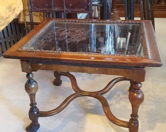 One-of-a-Kind Up-Cycled Coffee Table
