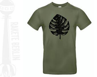 T-Shirt 'Monstera leaf'