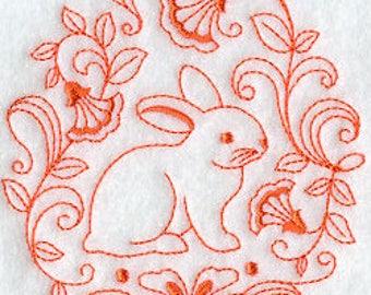 Easter bunny spring Flour Sack Towel Kitchen