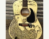 ON SALE Hipster Guitar by Austin Lysaght