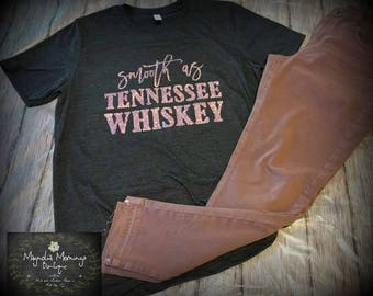 Smooth as Tennessee Whiskey Soft Style Vintage Tee