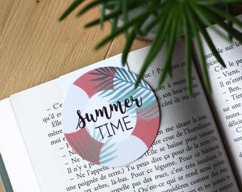 Summer time / / 1 magnetic bookmark