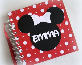 Classic! Custom Personalized Disney Autograph Book Scrapbook Travel Journal Vacation Photo Book na1a1