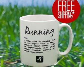 Running Mug - Running