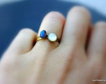 2 mini size 53 rings, rings