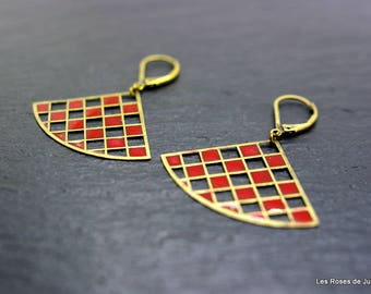 Earrings art deco