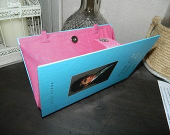 Handmade/Upcycled Pride and Prejudice Book Clutch Bag Handbag Purse