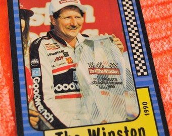 3 1991 and 1 1997 Dale Earnhardt Trading Cards