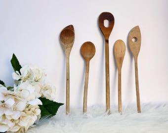 Set of 5 Vintage Spoons