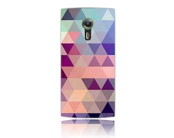 Alcatel One Touch / Alcatel Flash 2 Case #Cotton Candy Design Hard Phone Case