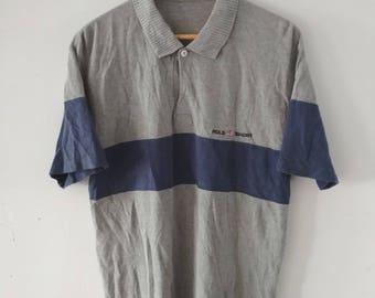 Rare Vintage Polo Sport Polo Tshirt Size M