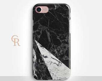 Marble Phone Case For iPhone 8 iPhone 8 Plus iPhone X Phone 7 Plus iPhone 6 iPhone 6S  iPhone SE Samsung S8 iPhone 5 Samsung S7 Edge White