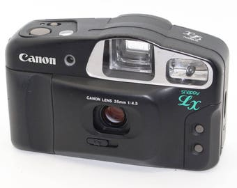 Canon Sure Snappy LX (Prima BF) 35mm Film Compact Camera with case - Lomo - Very good condition and tested