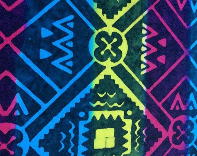 Celestial Rainbow Aztec Batik