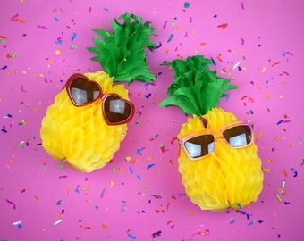 pom-pom || PINEAPPLE || honeycomb pineapple