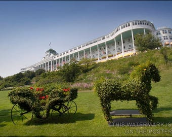 Poster, Many Sizes Available; Grand Hotel On Mackinac Island
