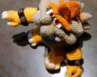 Bowser, Mario enemy amigurumi