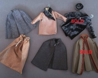 OOAK Overcoat for man 1:12 for dolls and dollhouse. Miniature by Paola&Sara Miniature. Dress, doll, dollshouse.