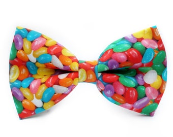Jelly Beans Bow Tie, Holiday Bow Tie, Bowtie, Dog Bow Tie, Mens Bow Tie, Boys Bow Tie, Kids Bow Tie, Toddler Bow Tie, Bow Tie, For Him