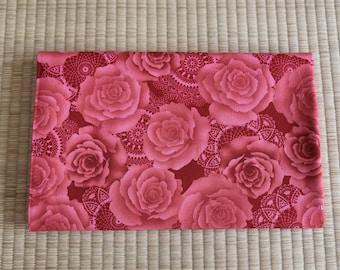 rose flower Fabric 1/2 yard