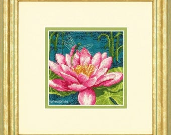 Dimensions Dragon Lily Needlepoint Kit