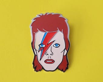 Bowie Aladdin Ziggy Stardust Pin