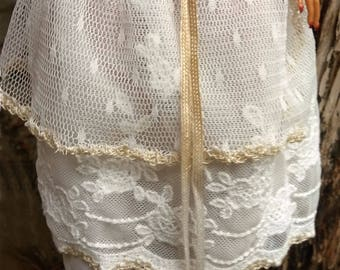 17 inch MONSTER HIGH layered tulle skirt OOAK