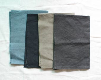 FREE SHIPPING Washed Linen Kitchen towel
