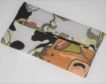 """""""Cows"""" tissue holder case"""