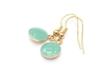 Gaia PM Jade earrings