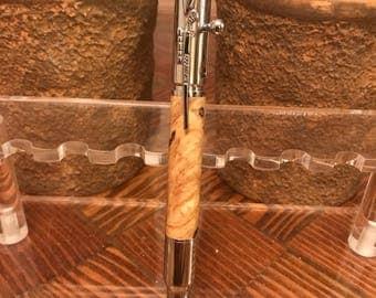 30 Caliber Rifle Pen (Buckeye Burl)