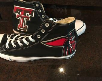 Texas Tech High Tops!