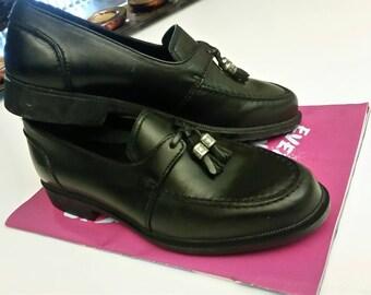 girls black leather loafer, girls shoes, black shoes, girls 3.5 clarks shoes, black leather shoes, Clarks for kids,