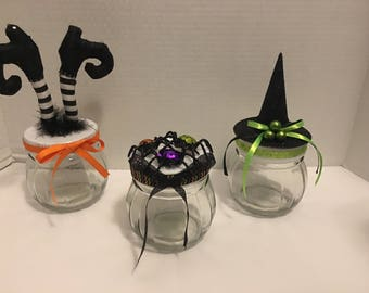 Witchin' Halloween Candy Jars (3)