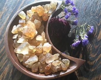 Citrine - Natural Citrine - Abundance - Prosperity - Manifestation - Natural Stone, 2 Qty