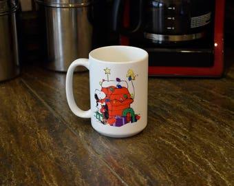 Snoopy 15 oz Christmas Mugs/ Cups