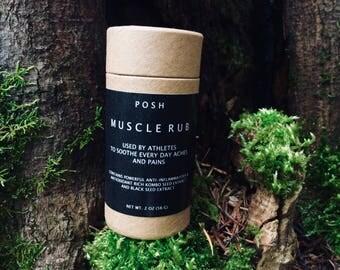 MUSCLE RUB Organic Stick Balm Anti Inflammatory Innovative Ingredients