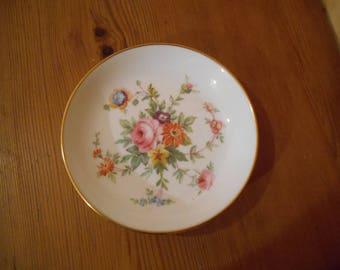 Minton Dish, Fine Bone China dish, Vintage Trinket Dish