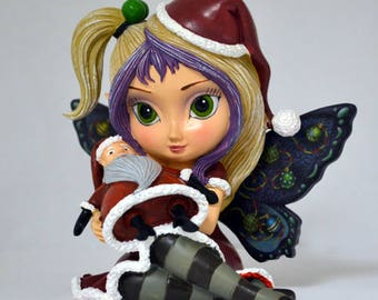 Tim Burton Nightmare Before Christmas Figurine by Jasmine Becket Griffith: SANDY CLAWS by The Hamilton Collection - Bradford Exchange