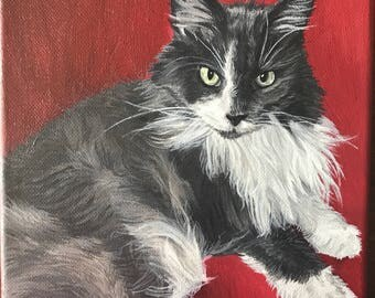 Custom Pet Portrait- Acrylic Painting