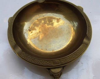 Ormolu ashtray. Finely crafted. Early 20th century