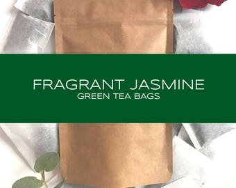 Fragrant Jasmine Green Tea Bags