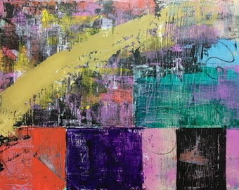 """16""""x20"""" Original Abstract Painting"""