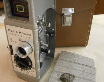 Bell and Howell 8mm Movie Camera - One NIne