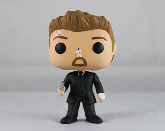 Custom Funko Pop! of Se7en's Detective David Mills