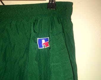 vintage 90s russel athletic track pants (size L)