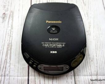 Panasonic MASH Car Portable CD Player SL-S250C 1994 Compact Disc Player